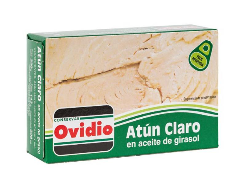 ATÚN CLARO EN ACEITE DE GIRASOL