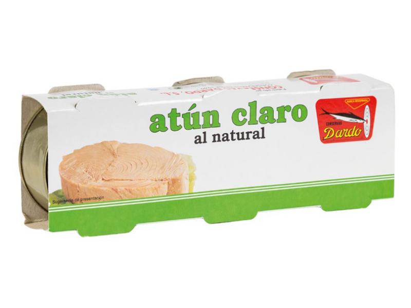 ATÚN CLARO AL NATURAL