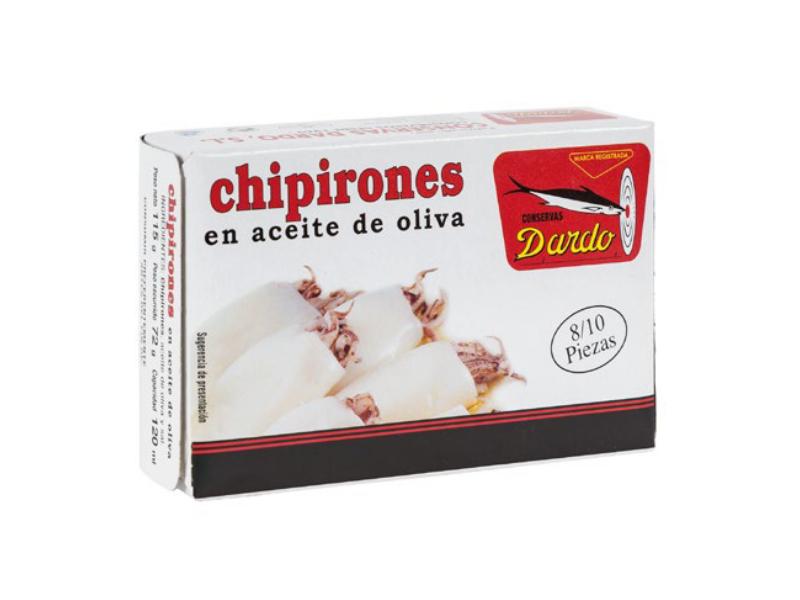 CHIPIRONES EN ACEITE DE OLIVA