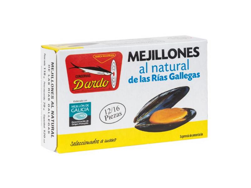 MEJILLONES AL NATURAL