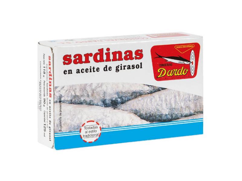 SARDINAS EN ACEITE DE GIRASOL