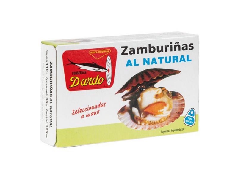 ZAMBURIÑAS AL NATURAL